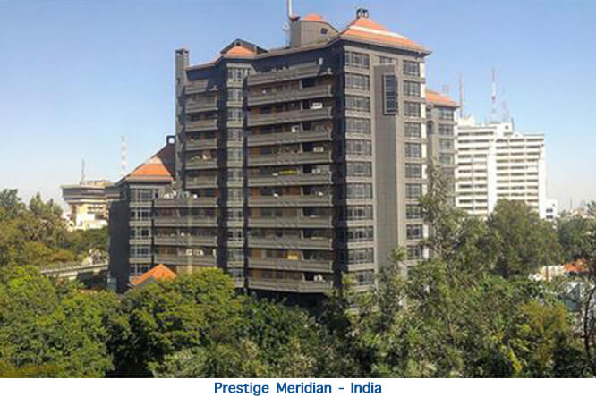 Prestige Maridian - India